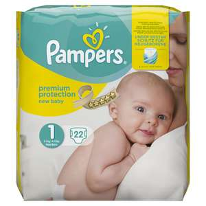Buy a pack of Pampers Nappies for £5+ @ Superdrug & receive £10 Cashback via Quidco (new Quidco Members only)