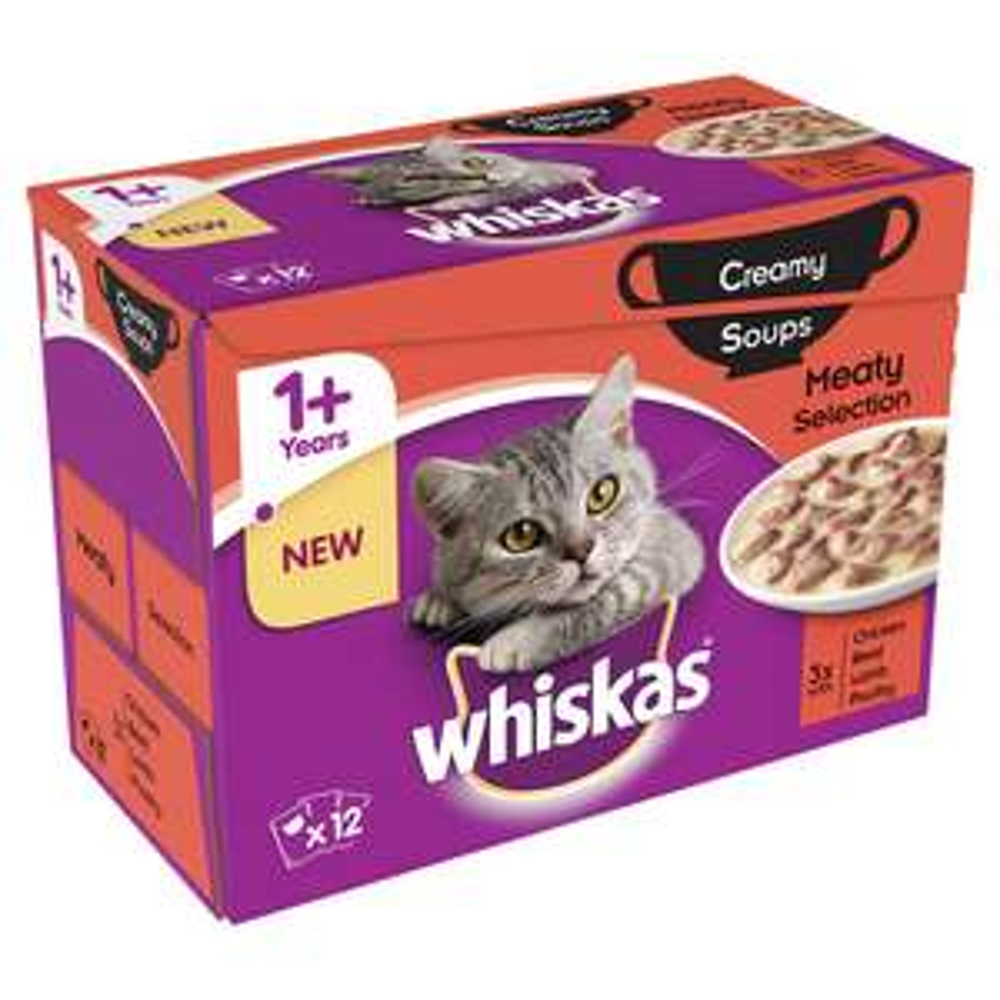 Whiskas (various) Pouch 12 x 85g £2 @ Wilko Online/Instore
