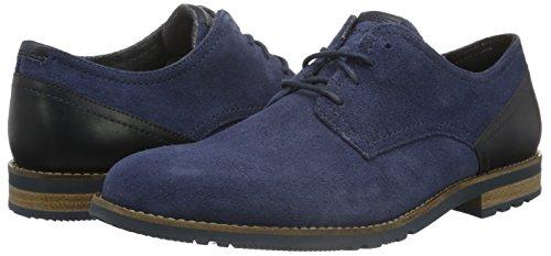 Rockport Men's Ledge Hill Too Plain Toe Blucher Derbys, Blue, Size 10, £22.93 @ Amazon