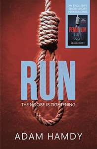 Free Kindle eBook Download.  Run is an action packed thrill ride.