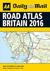 Free Road Atlas with the daily mail Saturday