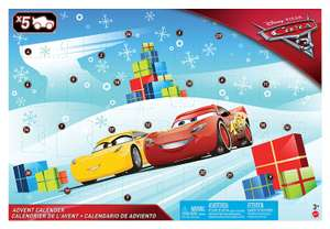 £10 off Cars 3 Advent Calendar - Tesco Direct - £20
