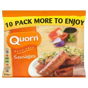 10 pack of Quorn Sausages (2 packs for £3) - iceland