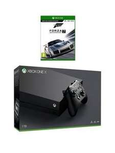 Xbox One X Console with Forza 7 - £433.98 @ Very - 'Use code LXJK7'