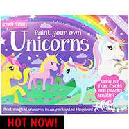 Paint Your Own Unicorns Set (rrp £12.99) £7 each or 2 for £10 Mix & Match C+C @ The Works