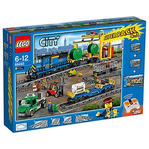 Lego Cargo Train, Station, Tracks and Power Functions 4 in 1 Super Pack £159.99 John Lewis Exclusive. Great price for partly retried set
