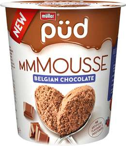 Muller Pud Belgian Chocolate Mousse or Dark Chocolate Mousse (200g) was £1.75 now £1.00 (Rollback Deal)