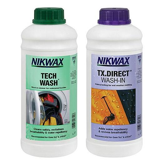 Nikwax Tech Wash & TX Direct Wash-In Waterproofing, 2 x 1 Litre  £11.25 @ Tesco