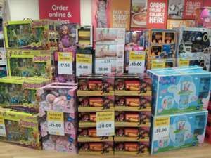 Tesco toy sale in-store @ Lichfeild store reduced to clear