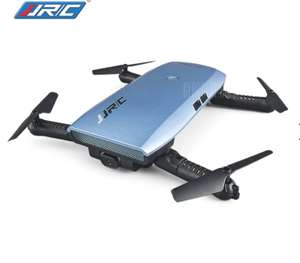 JJRC H47 ELFIE+ Foldable RC Pocket Selfie Drone - RTF  -  BLUE £25.21 Delivered with code @ Gearbest