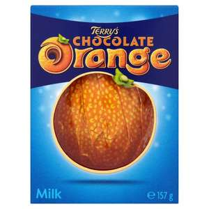 Terrys Chocolate Orange Milk 157g @ ASDA/Morrisons - £1
