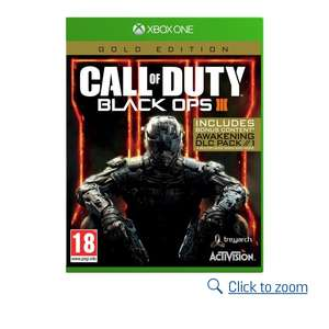 Call of duty black ops 3 gold edition £18.99 @ Argos