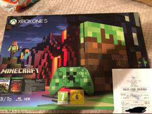 XBOX ONE S 1TB Minecraft Limited Edition Console *price error* Argos - £299.99