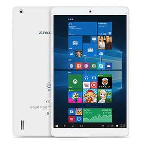 Original Box Teclast X80 Pro 32GB Intel Z8350 Quad Core 8 Inch Dual Boot Tablet PC £58.12 Delivered with code @ banggood