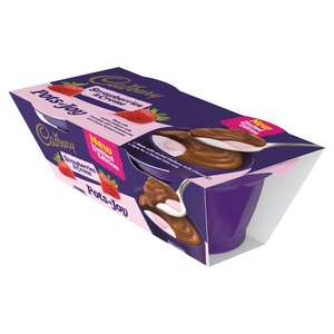 Cadbury Dairy Milk Pots of Joy Chocolate Dessert (2 x 70g)was £1.30 now Buy any 1 add 1 free @ Ocado
