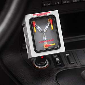 Back to the Future Flux Capacitor USB Car Charger £15.63 delivered - Dispatched from and sold by Amazon US