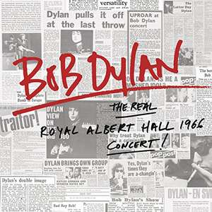Bob Dylan The Real Royal Albert Hall 1966 Concert [VINYL] Live £12.99 prime / £15.98 non prime @ Amazon