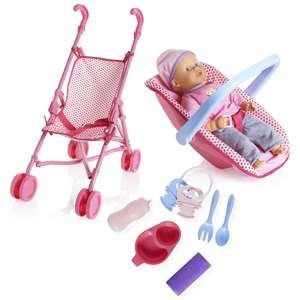 Wilko Stroller and Carrier Doll Set Was £40, now £20 @ Wilko