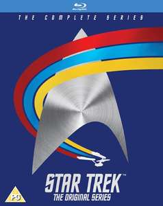 Star Trek The Complete Original Series Blu Ray £27 Zoom with code/DVD £18