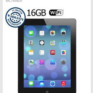 Apple iPad 2 16GB WIFI Black MC769B/A Grade A- Brown Boxed 12 Months Warranty £114.99 @ Student Computers