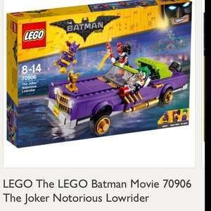 Great deal on this - LEGO The LEGO Batman Movie 70906 The Joker Notorious Lowrider £27.50 @ John lewis