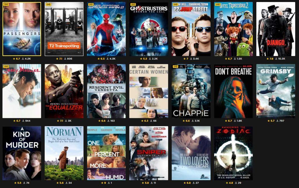 Rakuten Cinema Club. Autumn-Mood List; Own 5 movies for £1 each. 20 to choose from @ Rakuten.tv