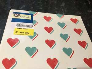 Ring Binder Love Heart Design 20p in Morrisons