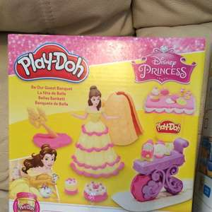 Play doh Disney princess be our guest banquet down to £3.70 instore asda