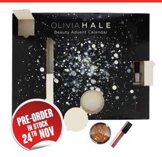 Pre-Order: Olivia Hale 24 Day Beauty Advent Calendar @ Home Bargains £14.99 /  £18.48 delivered