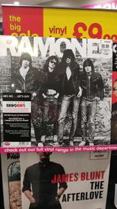 Ramones The Ramones £8.99 on vinyl at HMV instore