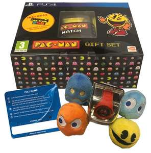 Pac-Man PS4 Gift Set  - £14.85 delivered @ Shopto eBay / Shopto Direct [Incl Pac-Man 256 PS4 Game, 4 Plushes & Watch]