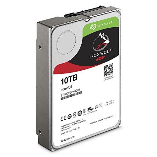 Seagate IronWolf 10 TB 3.5 inch Internal Hard Drive -- £280.20 @ Amazon