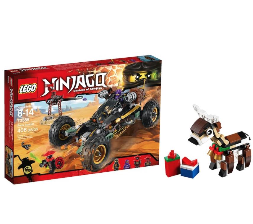 LEGO Ninjago - Rock Roader - [70589] + Free Lego Reindeer £24.50 (Free C&C) @ Debenhams