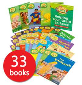 Read with Biff, Chip and Kipper Collection: Levels 1-3 - 33 Books (Collection) £14.40 delivered with code AFCONKER @ The Book People