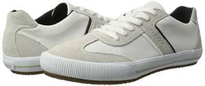 Geox Respira Men's U Dart R Low-Top Trainers White Size 10 (others sizes around £31-£33, 7-9) £22.64 @ Amazon