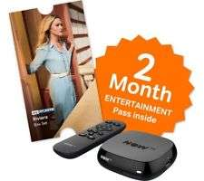 NOW TV BOX + 2 Month Entertainment pass or 1 Month Cinema Pass + Sky Store Voucher worth £5.49 to rent a movie =  £9.85 @ ShopTo (Back Order)