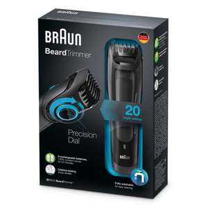 Braun - Beard trimmer BT5010 online at Debenhams - £20