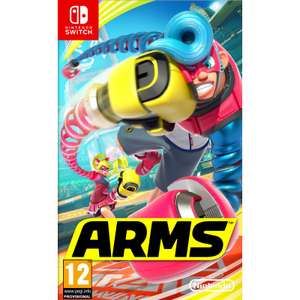 Arms Nintendo Switch £36.95, The Game Collection
