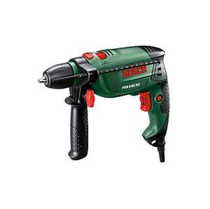 Bosch 680W 240v Corded Keyless Hammer Drill  PSB680RE £32 ( with code CLUBWLRPCN ) @ B&Q C&C