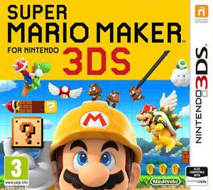 Super Mario Maker 3DS £22.95 eBay, seller thegamecollectionoutlet