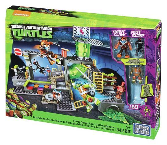 Mega Bloks Teenage Mutant Ninja Turtles Sewer Lair (inc. Tiger Claw, Foot Soldier & Leo Figures) £12.45 delivered @ Official Argos Shop on ebay