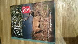 Collins: where to see wildlife in Britain and Ireland - £6 instore @ WH Smith (Harrogate)