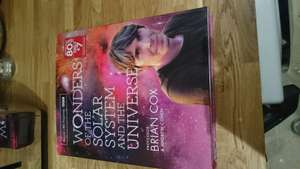 bbc: wonders of the solar system and the universe by professor Brian Cox & Andrew Cox - £7 instore @ WH Smith (Harrogate)