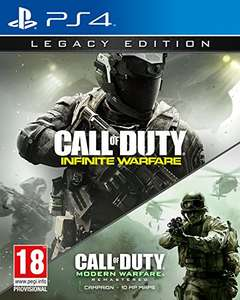 COD infinate warfare legacy edition PS4 £19.85 XBOX £17.85 Sold by GAME_Outlet and Fulfilled by Amazon (Delivery £1.99 for non prime)