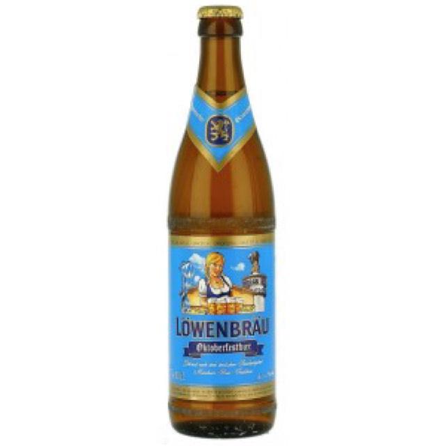 Lowenbrau  Oktoberfest 6% malt beer instore at Morrisons Blackburn reduced to clear
