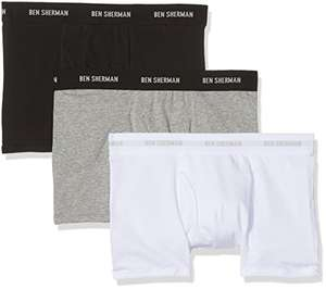 3 Pack Ben Sherman Men's Chris Boxer Shorts £8 (Prime) @ Amazon
