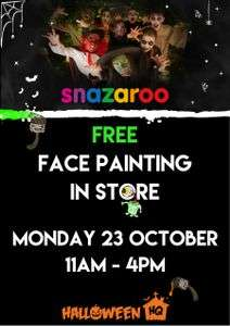 Free Face Painting In Store In Buchanan Galleries Glasgow Mon 23rd Oct