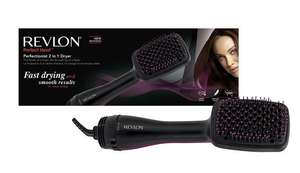 Revlon Perfectionist Paddle Brush 2-in-1 Dryer (rrp £49.99) now £16.99 Prime / £21.74 Non Prime with voucher @ Amazon