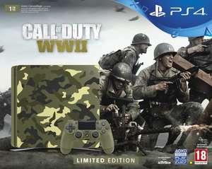 PlayStation 4 1TB Call of Duty: WWII Camo console - Exclusive @ TESCO - £259.99