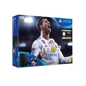 Sony PlayStation 4 500GB Console in Black with Fifa 18 - £229 @ Co-OP Electrical/Amazon